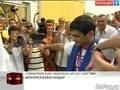 Олимпийский чемпион Арсен Галстян вернулся в Краснодар