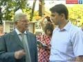 Владимир Евланов встретился с жителями Фестивального микрорайона