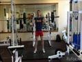 Видео тренировки в тренажерном зале! Приседания, толчок, отжимания на брусьях с отягощением